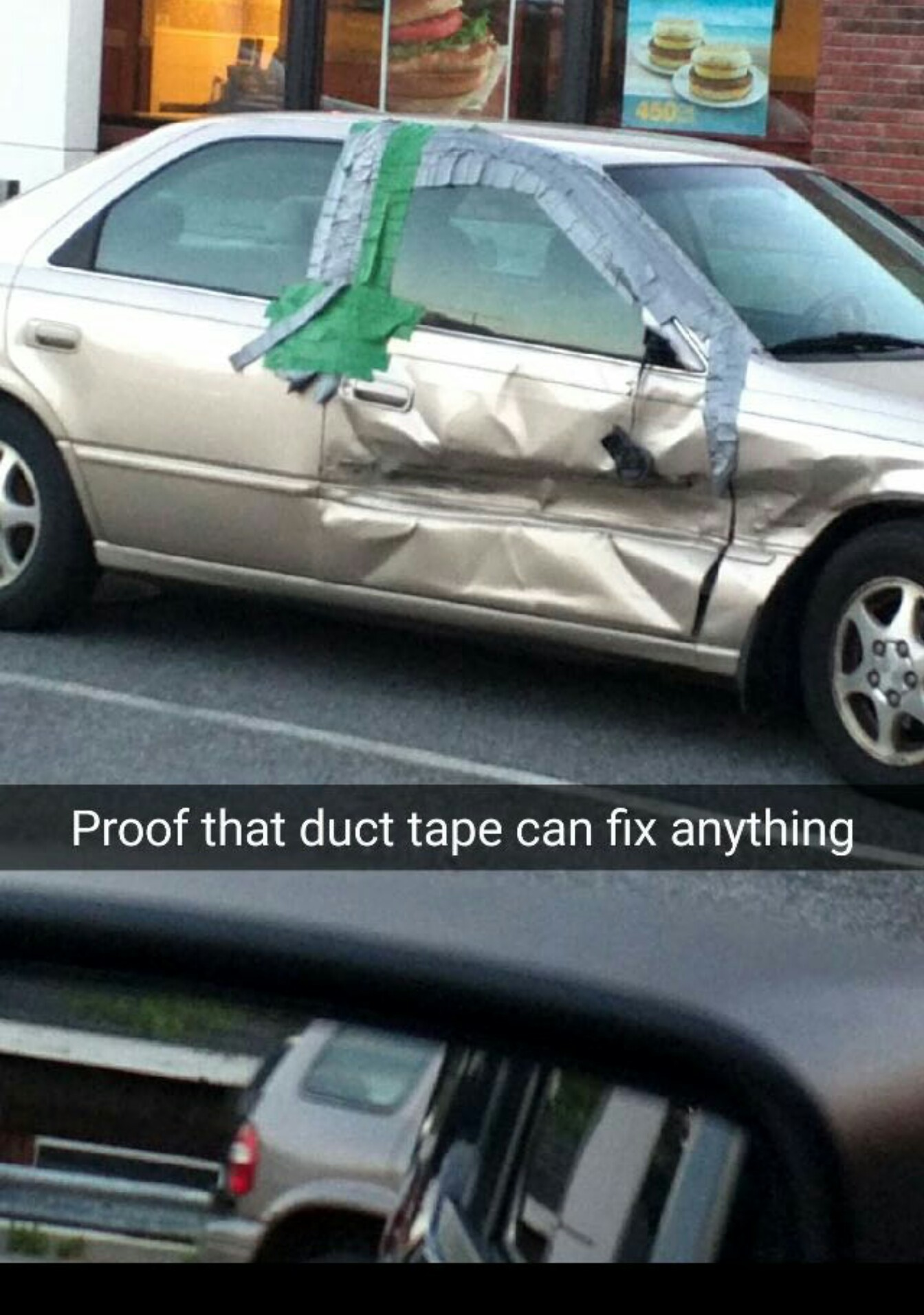WD40 or duct tape mate - meme