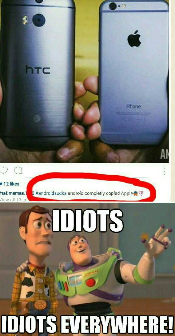 Htc came before iPhone 6 - meme