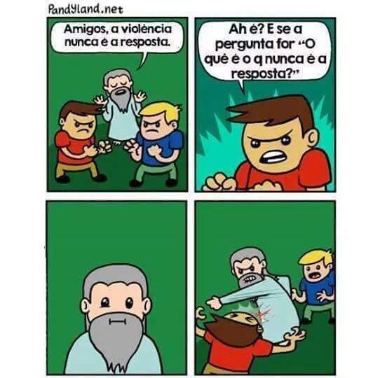 Violência :D - meme