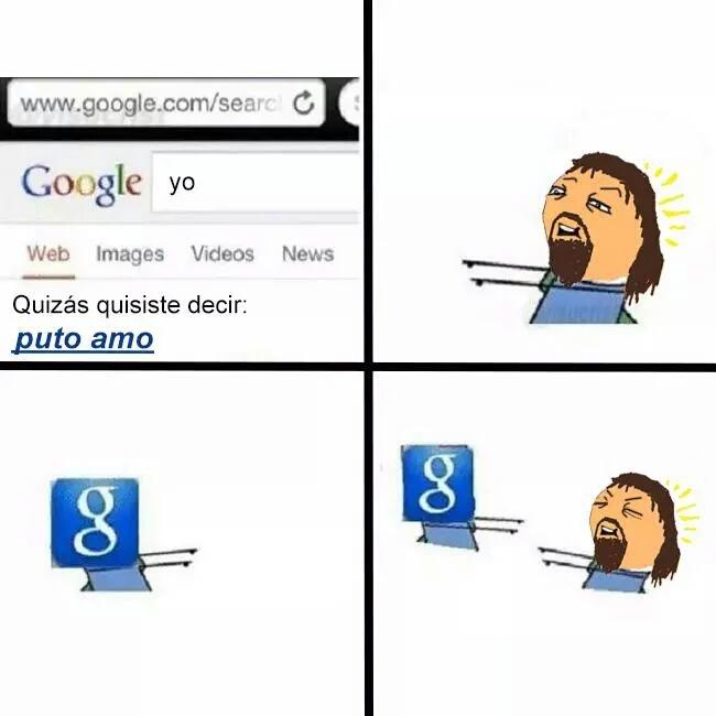 Google sabe - meme