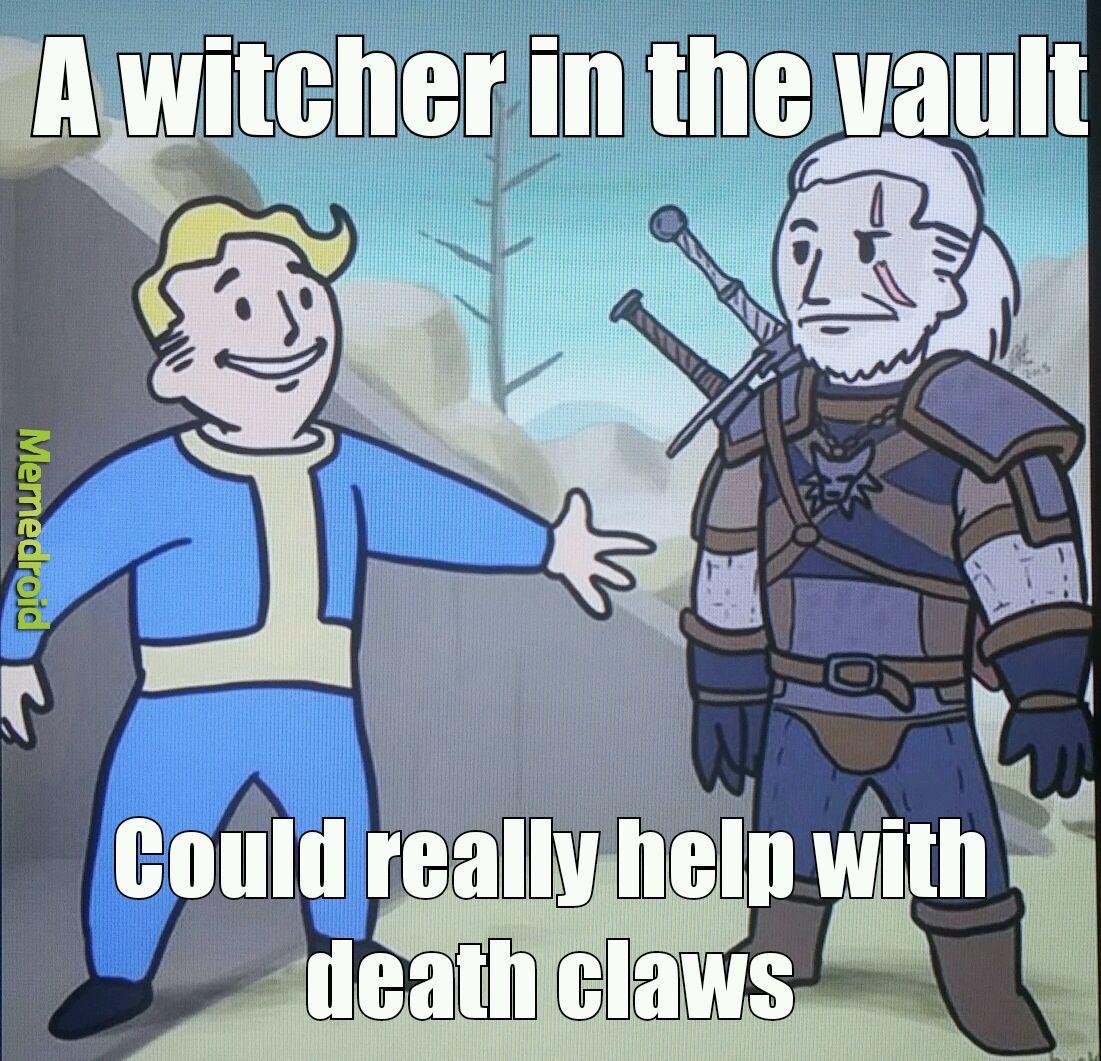 Witcher 3 10/10 - meme