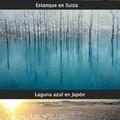 Aguas Congeladas alrededor del mundo