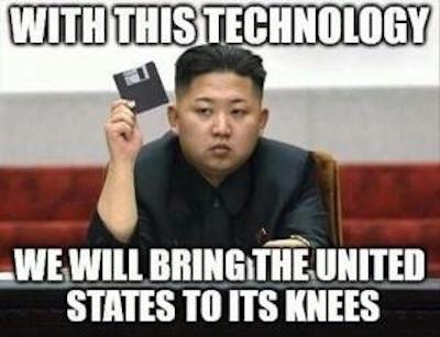Best Korea strikes again - meme