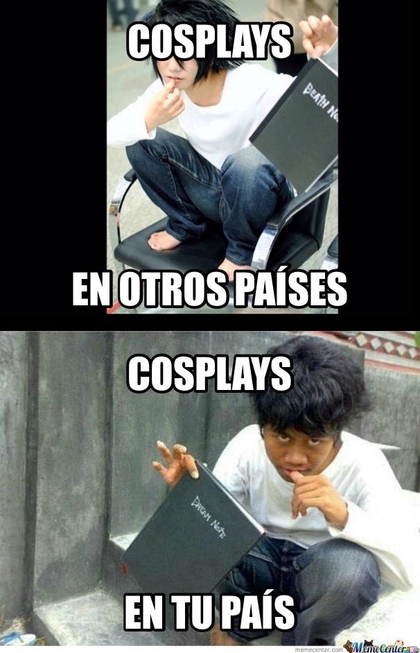 Cosplays (original) - meme