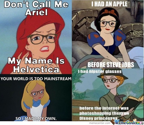 Hipster hipsters - meme