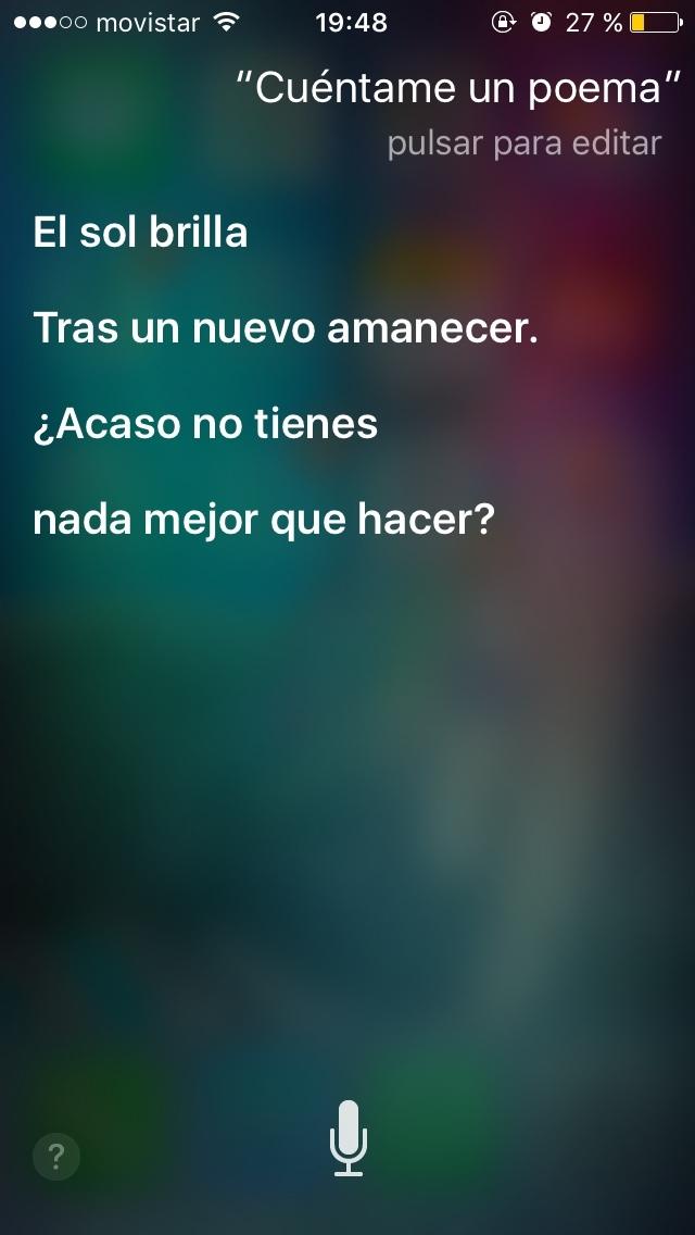 incluso Siri se lo cuestiona... - meme