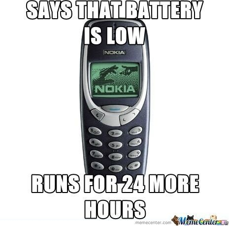 Nokia is our new God. - meme