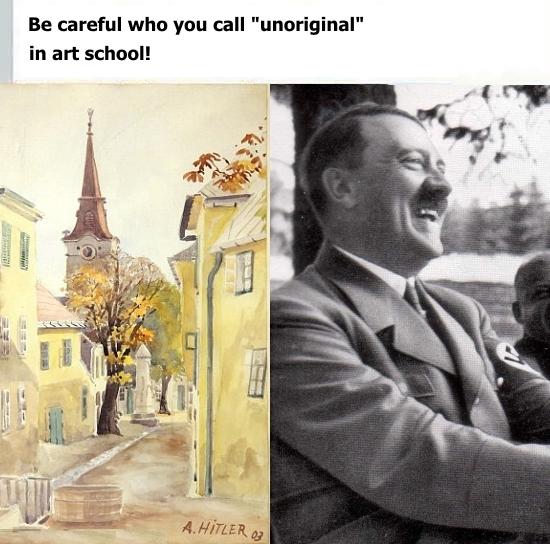 unoriginal adolf - meme