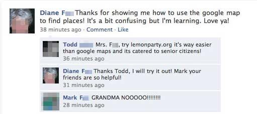 granny got confused - meme