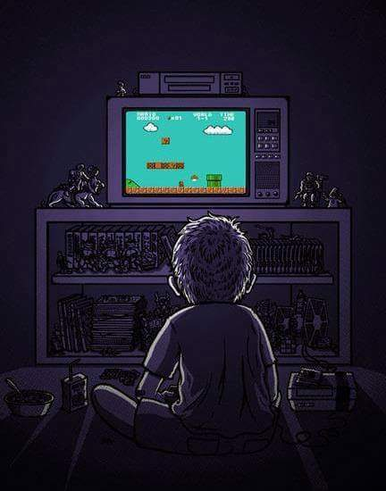 El comienzo de un gamer :') - meme