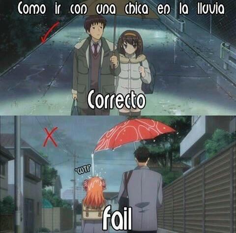 Da paraguas - meme