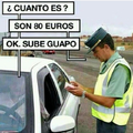 Conductor loquillo