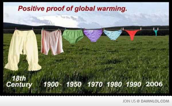 positive proof of global warming - meme