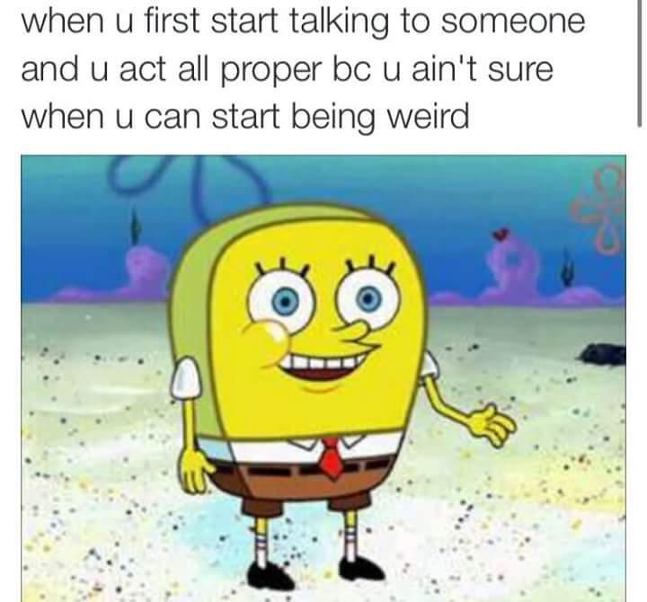 hi i'm normal - meme