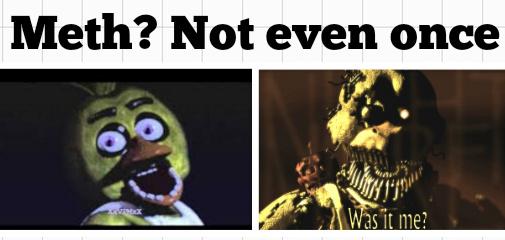 Fnaf 4 isn't scary - meme