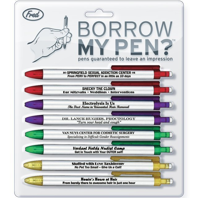 Wanna borrow my pen? - meme