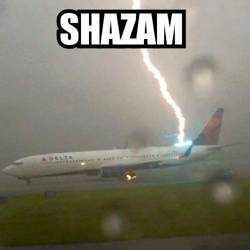 Shazam! - meme