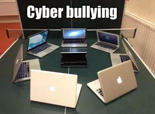 Ciber bulling - meme