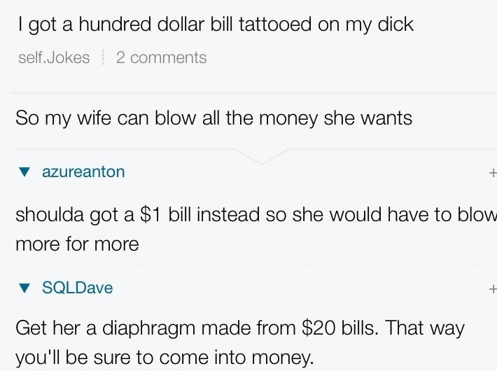Dick tattoo - meme