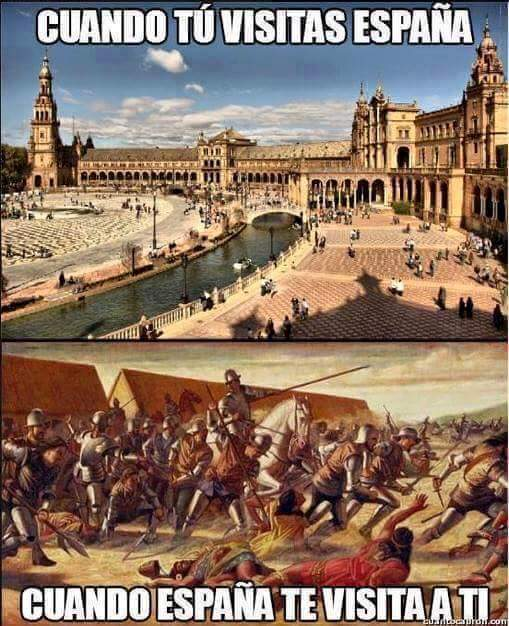 España te ataca, no hay error - meme