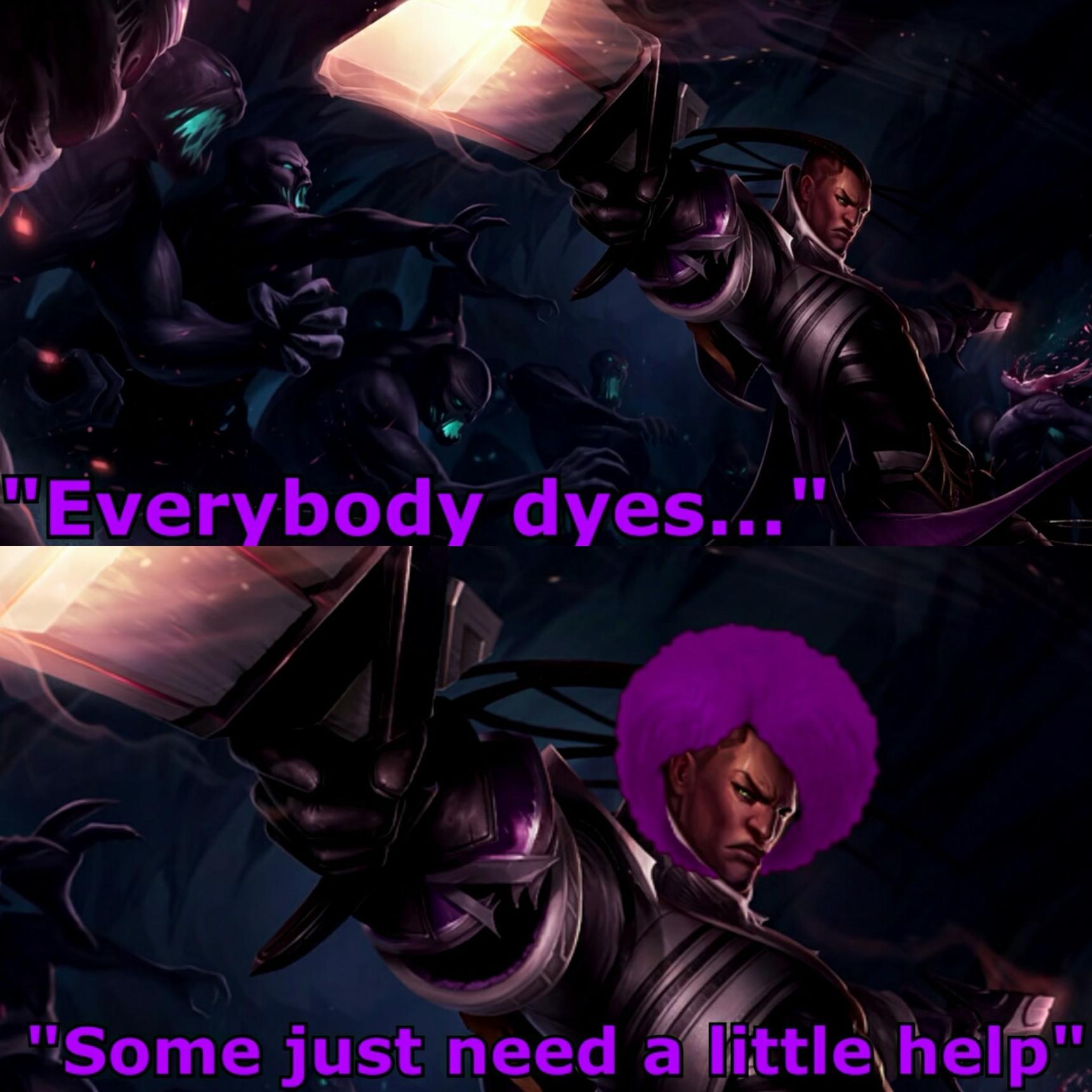 Everybody dies... - meme