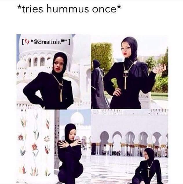 Tries Shawarma once - meme