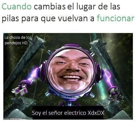 don eléctrico:v - meme