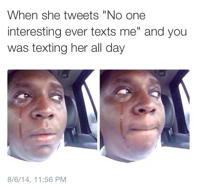 Sad times - meme