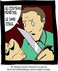 Bibliothèque - meme