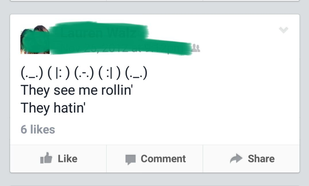 They see me rollin' - meme