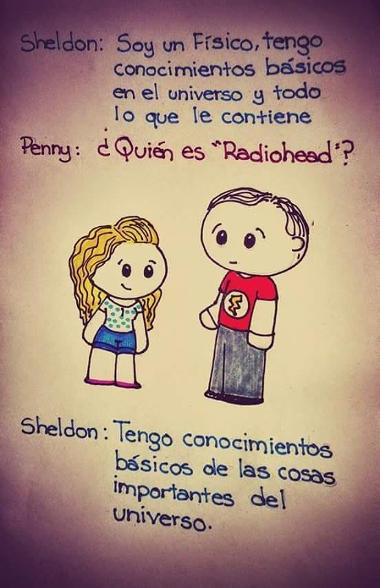 Ese Sheldon es un loquillo. - meme