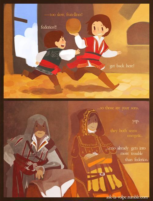 Ezio - meme