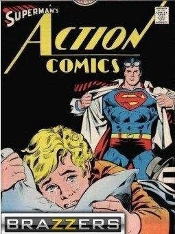Superman va une fois de plus utiliser son énorme... Super pouvoir ! - meme