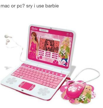 i use barbie - meme