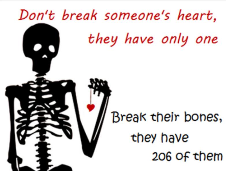 Break my bones - meme