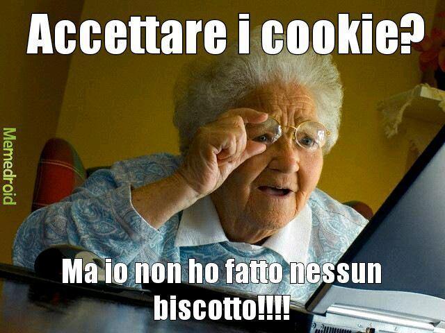 Mia nonna potrebbe fare cosi - meme