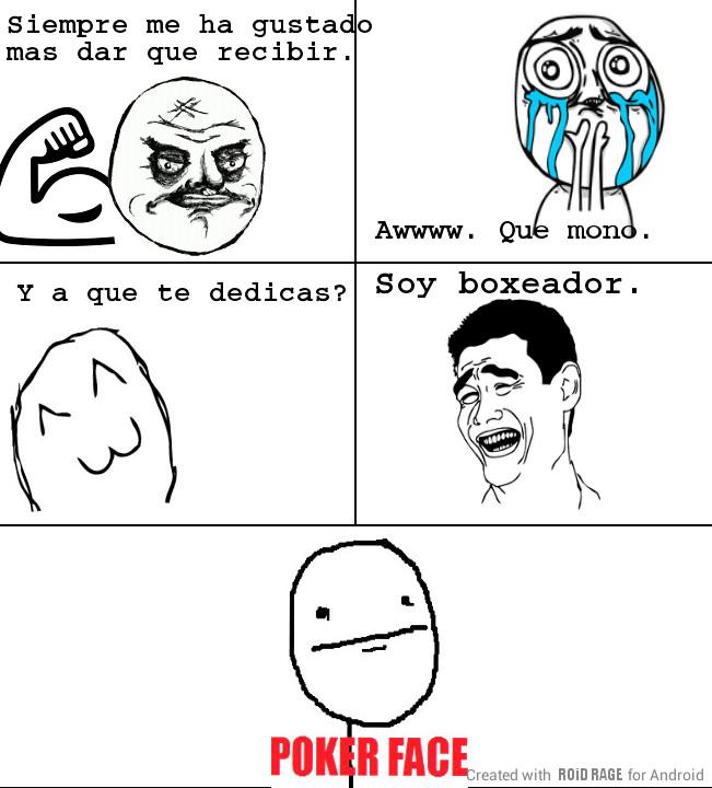 Boxeadores... - meme
