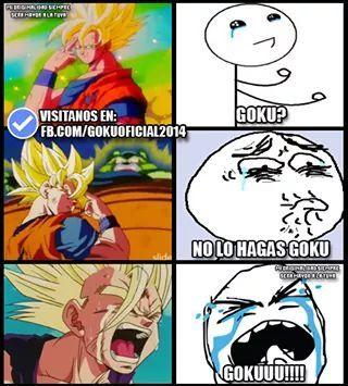 No Goku!! - meme