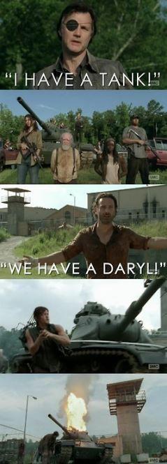 Hé ouais mon gars ! Daryl le meilleur - meme