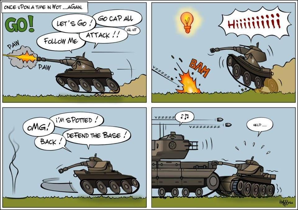 Il etais une fois sur world of tanks - meme