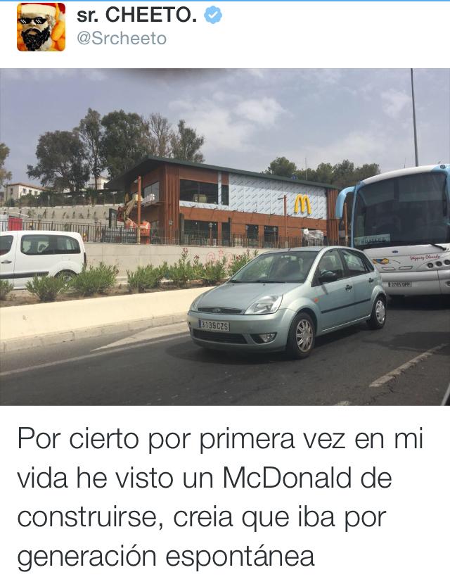 McDonalds en construcción 0.o - meme