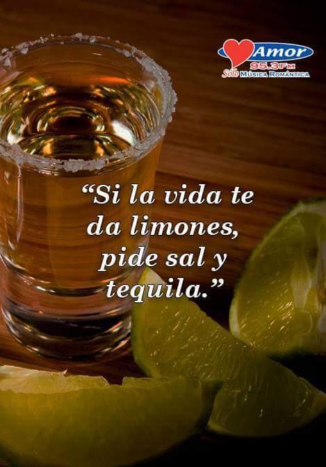 Sal y tequila - meme