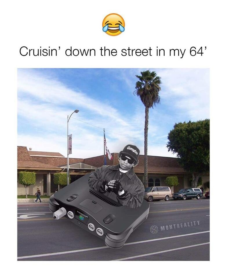 that's my kind of 64 - meme