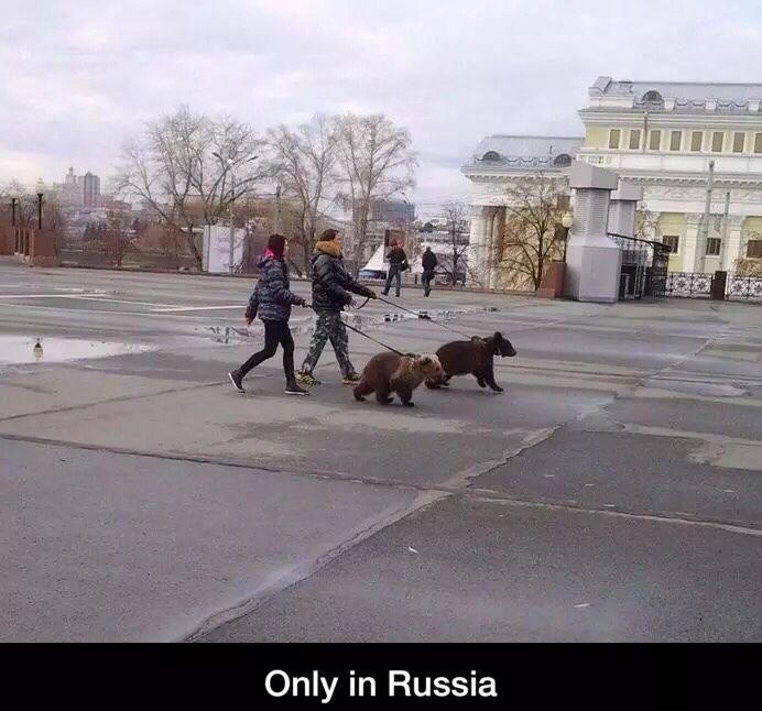 Only in Russia - meme