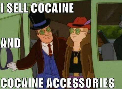 Cocaine - meme