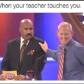 Except for when Ms. Green touches me ;)
