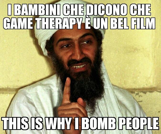 Osama therapy - meme