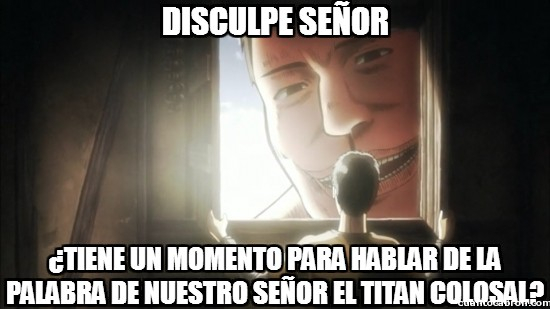Attack on titan <3 - meme