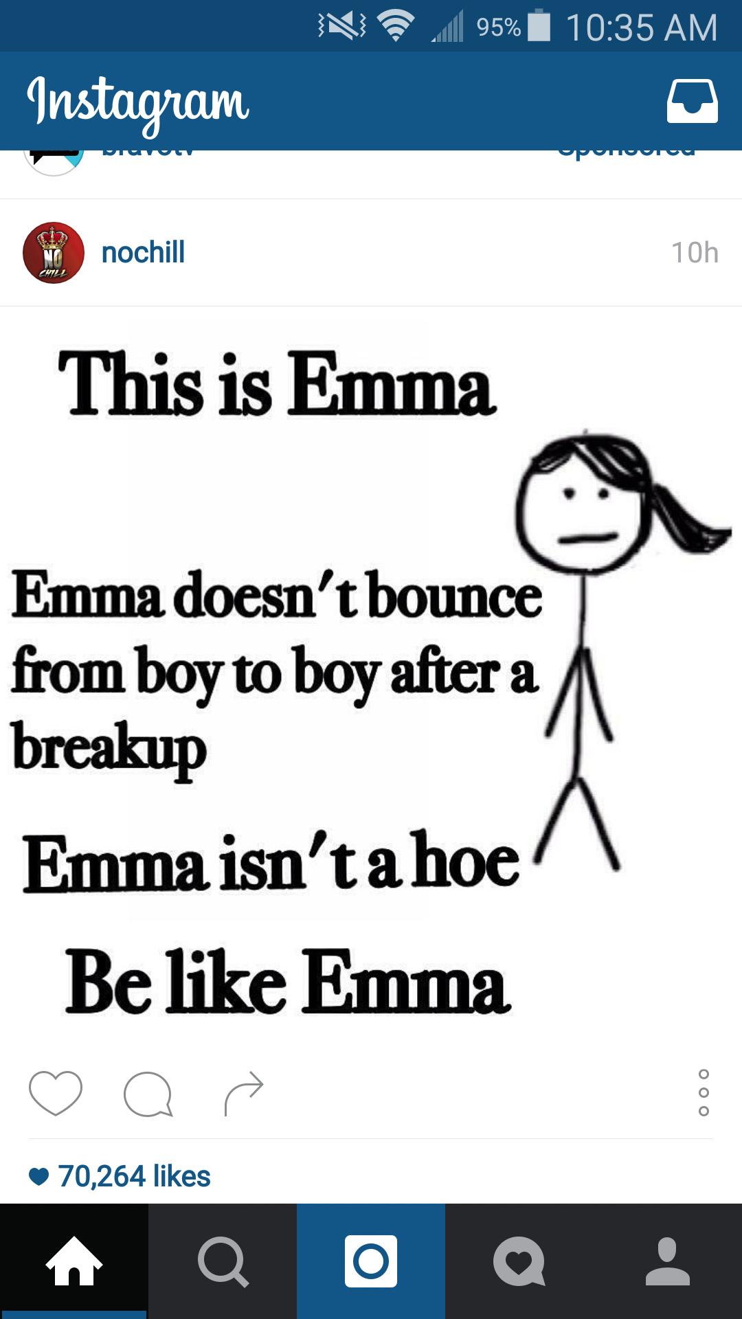 Be like emma ladies. - meme