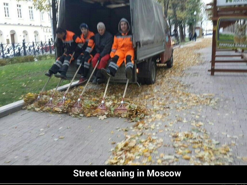 Street cleaning - meme